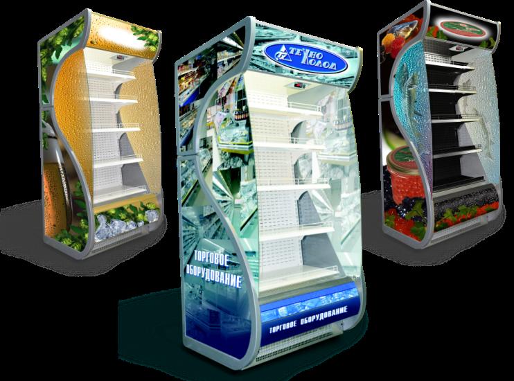 брендирование холодильного оборудования в самаре